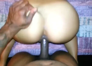 Asian and black fuck