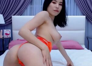 Asian webcam masturbate