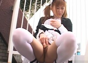 Hot asian maid