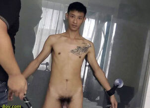 Asian boys bondage